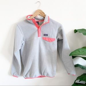 Girls Patagonia Synchilla Snap-T Pullover